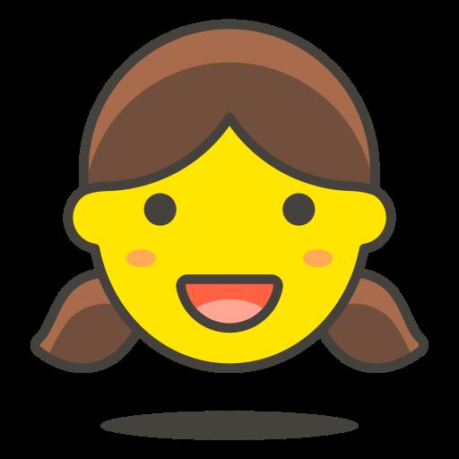 1, girl icon