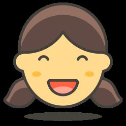 2, girl icon