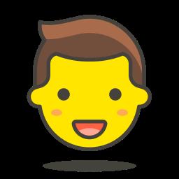 1, man icon