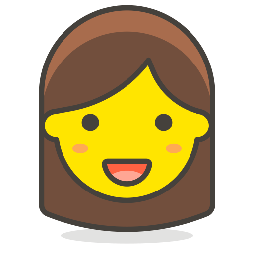 1, woman icon