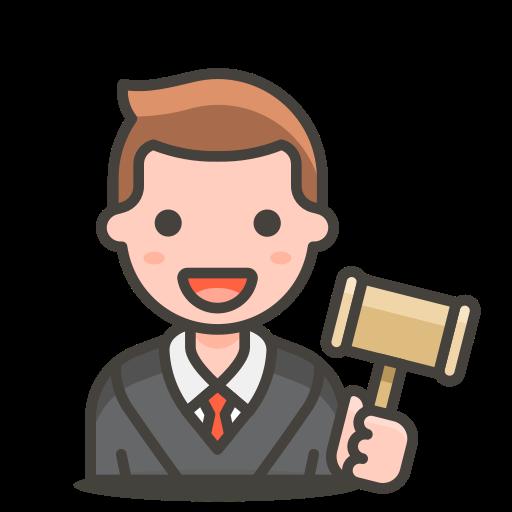 2, judge, man icon