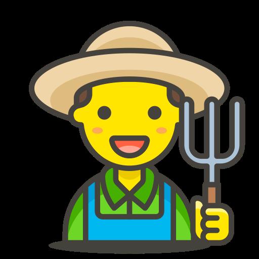 1, farmer, man icon