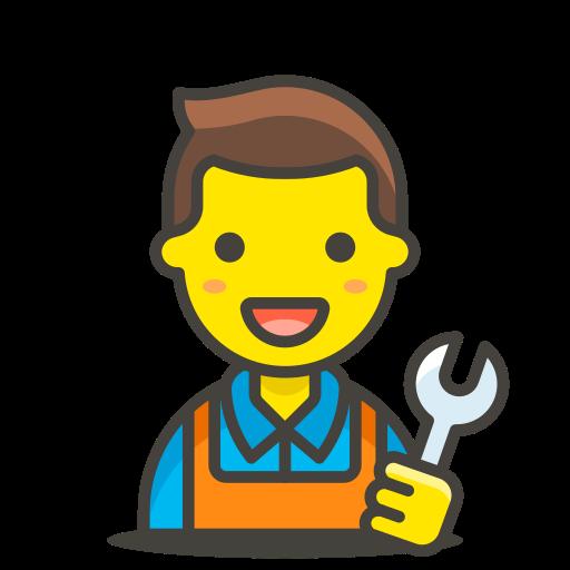1, man, mechanic icon