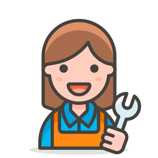 2, mechanic, woman icon