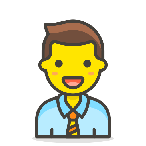 1, man, office, worker icon