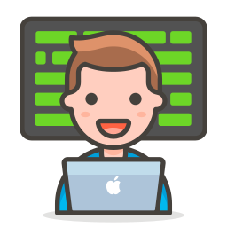 2, man, technologist icon