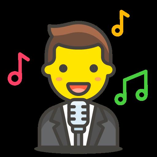 1, man, singer icon