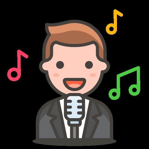 2, man, singer icon