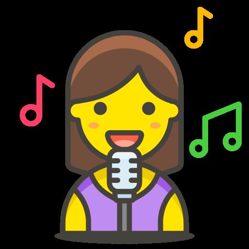 1, singer, woman icon