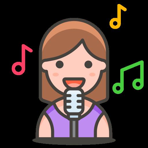 2, singer, woman icon