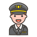 2, man, pilot icon