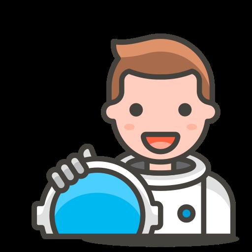 2, astronaut, man icon