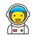 1, astronaut icon