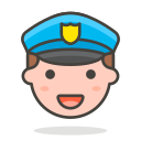 2, man, officer, police icon