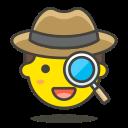 1, detective icon