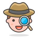 2, detective icon