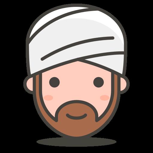 2, person, turban, wearing icon