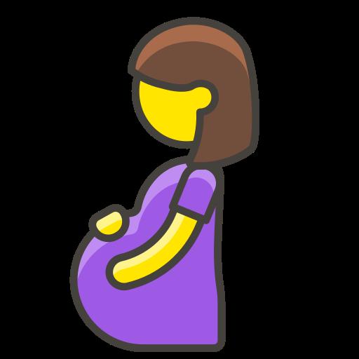 1, pregnant, woman icon