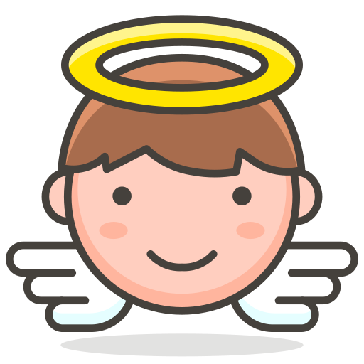 2, angel, baby icon