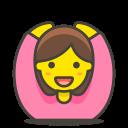 228woman, gesturing, ok icon