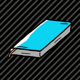 art, book, equiptment, hand drawn, street icon