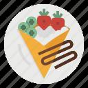 crepe, dessert, food, france, sweet