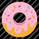 baker, dessert, donut, doughnut, sweet icon