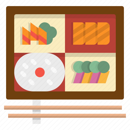 bento, box, food, lunch, meal icon