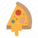 food, italian, junk, pizza, restaurants icon