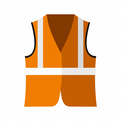 jacket, protective, reflective, rescue, safe, safety, vest icon