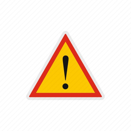 alert, beware, danger, exclamation, risk, safety, triangle icon