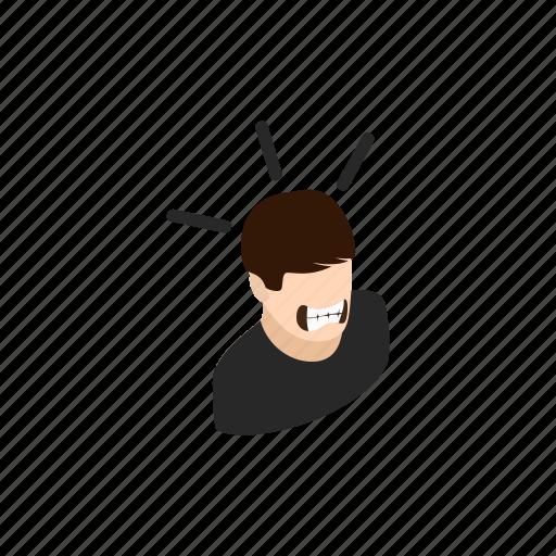 background, censorship, isometric, man, mouth, sealed, tape icon