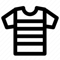 crime, criminal, criminal shirt icon