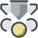 winners, medals icon