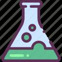 acid, beaker, chemistry icon