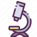 biology, increase, microscope, study icon