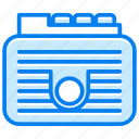 archive, documents, folder, storage icon