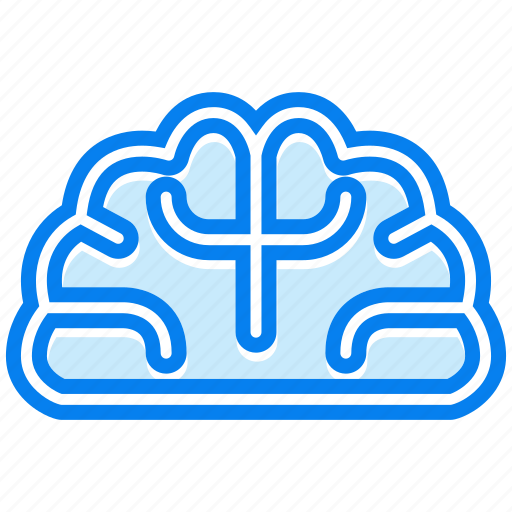 brain, brainstorm, creative icon