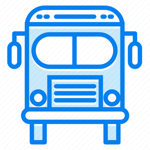 autobus, bus, transportation, travel icon