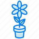 floral, flower, garden, nature, plant, spring icon