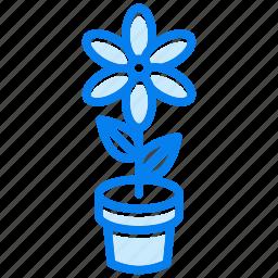 floral, flower, garden, nature, plant, spring icon