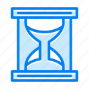 clock, hourglass, timer icon