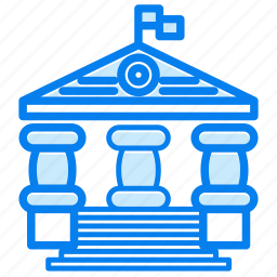 education, school, study, univ, university icon