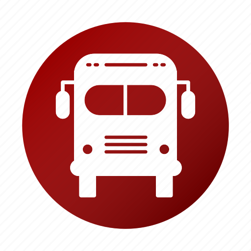 bus, education, school, study, transport icon
