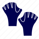 gloves, pool, swimming, water icon