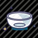 bowl, dinnerware, pot, tableware icon