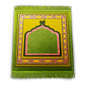 carpet, pray, seccade icon