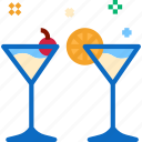 alcohol, cocktail, glass icon icon