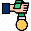 award, medal, winner icon icon