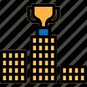 podium, winners, winners podium, winners stand icon icon